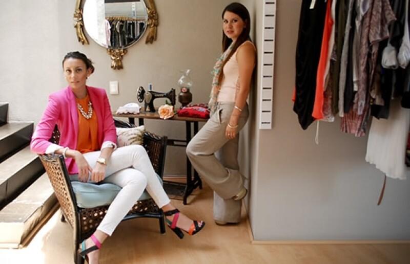 Mariana Muñoz y Gretta Trujillo