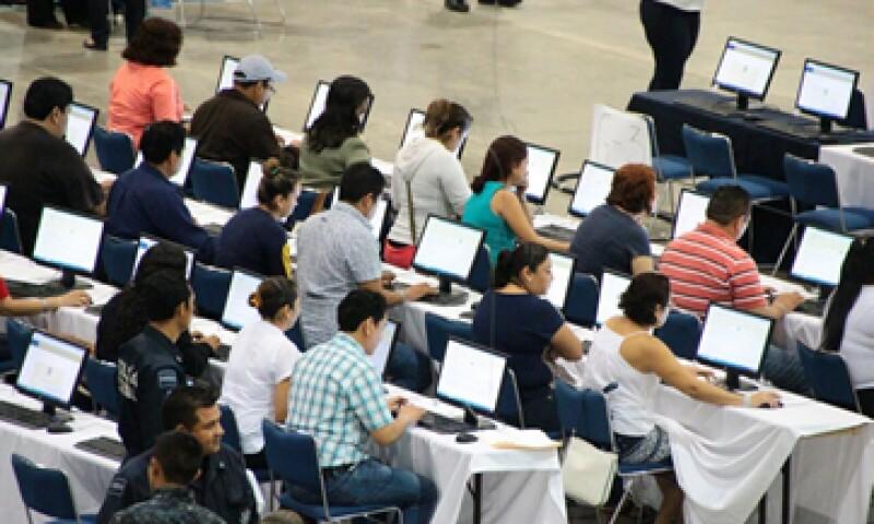 La SEP analiza si procederá penalmente contra quienes interrumpieron la prueba magisterial. (Foto: Notimex)