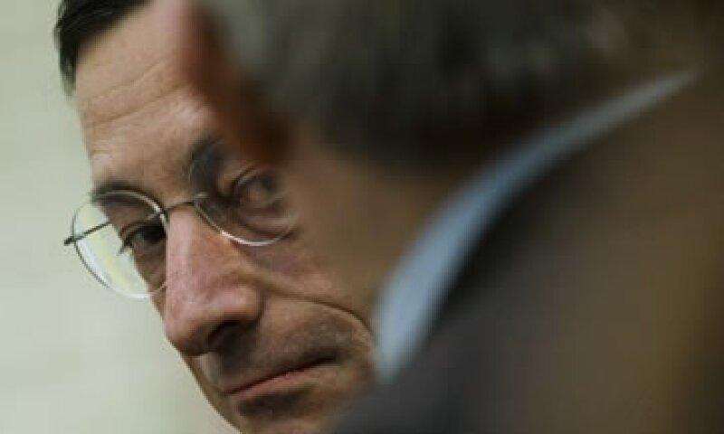 Draghi llamó a que el Fondo europeo entre en operación lo más rápido posible. (Foto: AP)