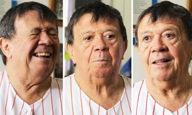 Xavier López tiene 78 años. (Foto: Diego Macías/Cortesía CNNMéxico)