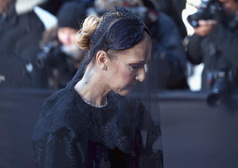 La tristeza en la cara de Celine no podía esconderse.