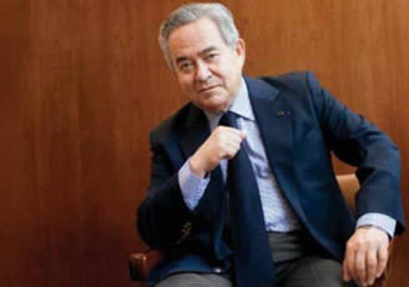 El futuro de ICA, al mando de Bernardo Quintana, es prometedor pues el gobierno federal podría intensificar el gasto en infraestructura. (Foto: Federico Gama)