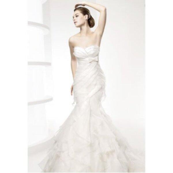 af3d78738 Los vestidos de novia corte sirena han estado muy presentes en las  pasarelas de