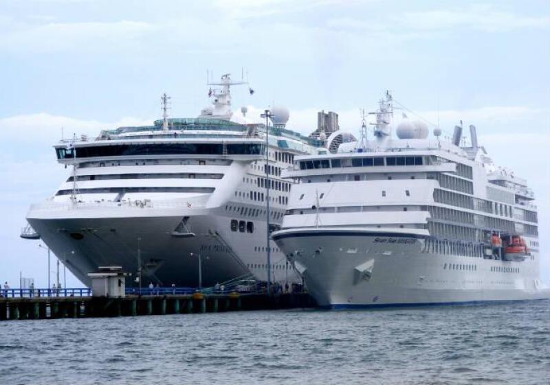 Crucero de la naviera de origen brit�nico Princess Cruise