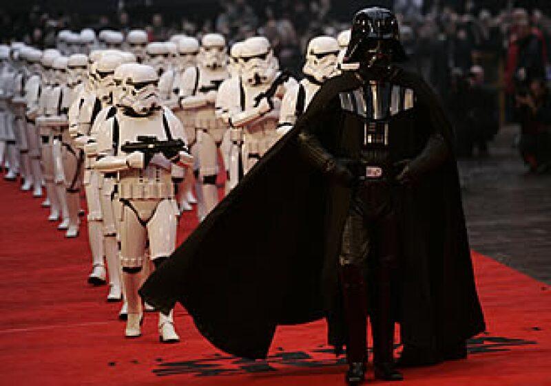 Se cree que el traje fue utilizado para el quinto episodio de la saga galáctica.  (Foto: AP)