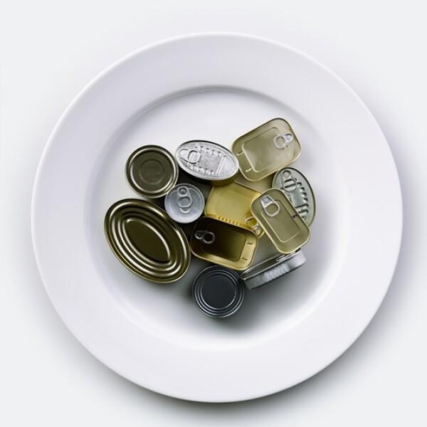 GALE. comida enlatada