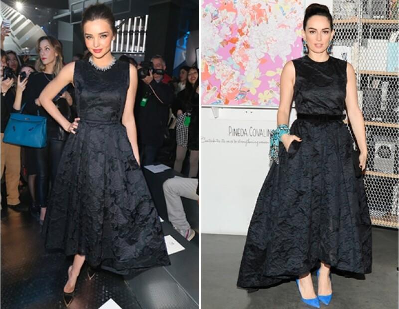 Miranda Kerr, Ana de la Reguera, Amber Valetta y Emmy Rossum han caído en el encanto de un vestido de H&M que además de que ha causado sensación por su diseño, es sustentable.