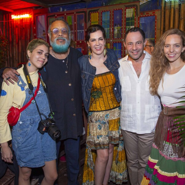 Mariana Céspedes, Francisco Céspedes, Claudia Marcucetti, Sergio Berger, Paula Schilling