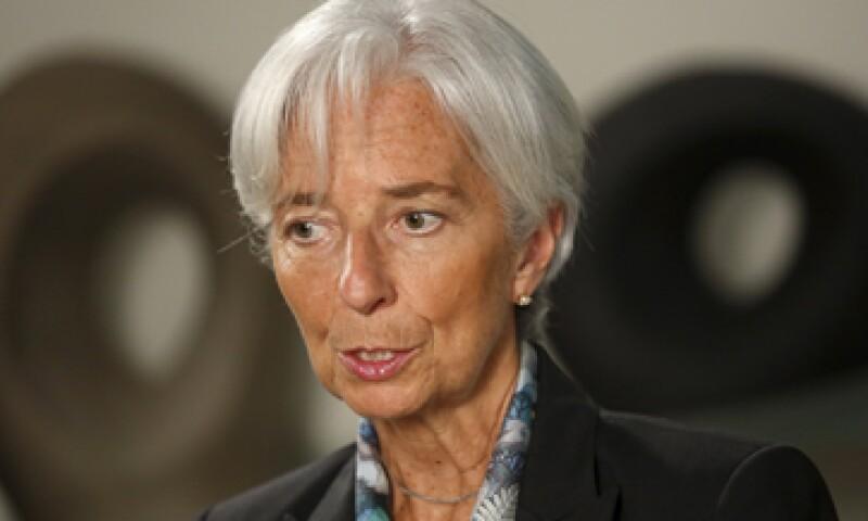 El FMI, dirigido por Christine Lagarde, ha tomado nota del referéndum que ayer se celebró en Grecia.   (Foto: Reuters )
