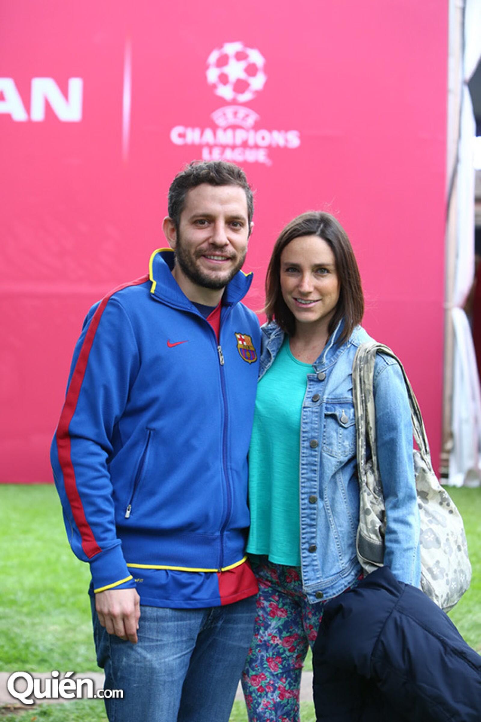 Joaquín Labora y Paulina Portilla