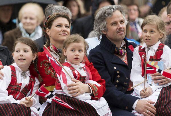 Princesa Marta Luisa y Ari Behn