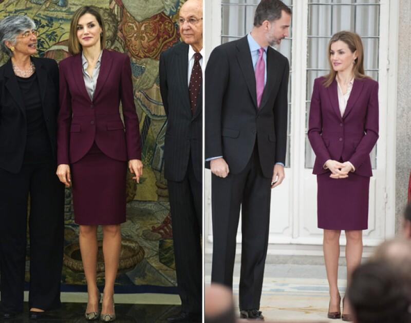 La duquesa de Cambridge y la reina de España lucieron este martes outfits que ya habían lucido anteriormente, demostrando que no se debe tener un extenso guardarropa para lucir bien.