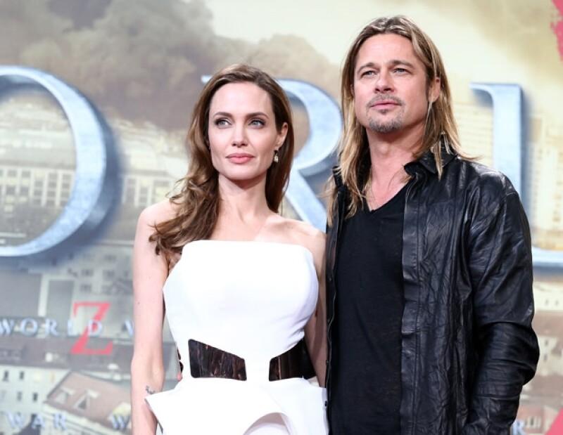 Angelina y Brad tienen una fortuna valuada en 300 millones de dólares.