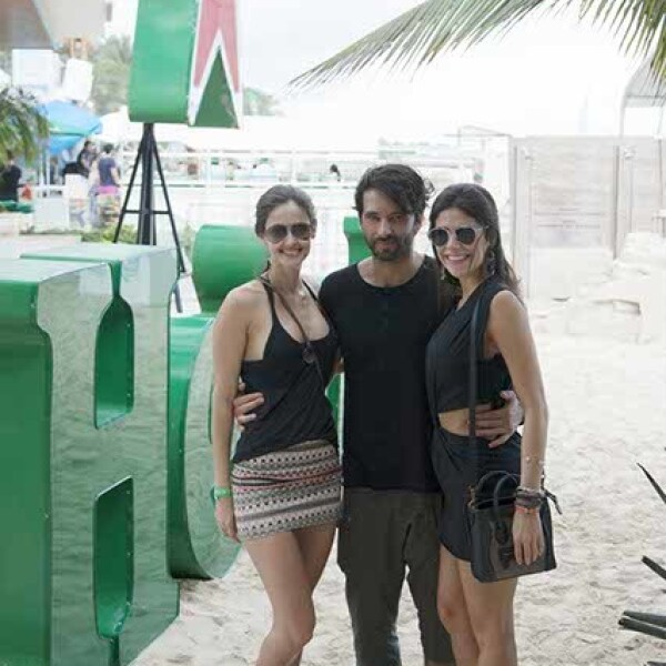 Mariana de Lucca,Cory Crespo y Giovanna Pane