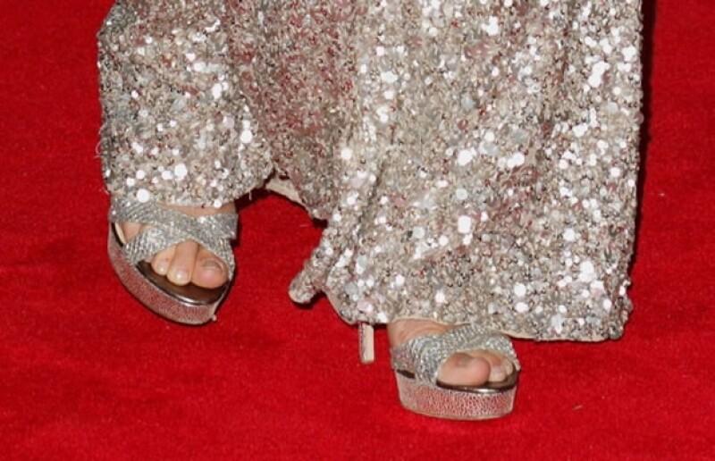 Los zapatos cuestan cerca de 10 mil pesos.