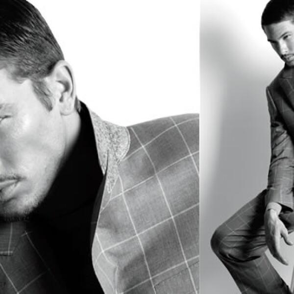Fue descubierto cuando acompañaba a su novia a un casting de modelos. Nacido en Francia y a sus 28 años fue imagen de Gucci.