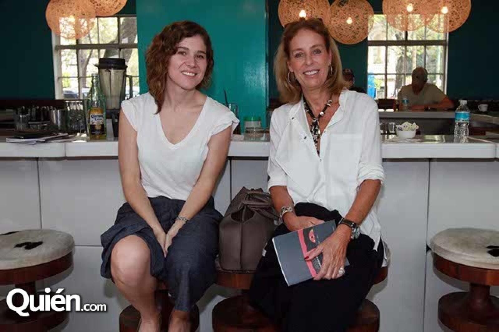 Cristina Rangel y Jennie Gutiérrez