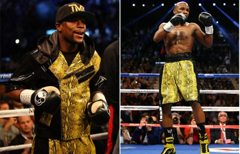 En el ring no se queda atrás, opta por vistosos colores y texturas.