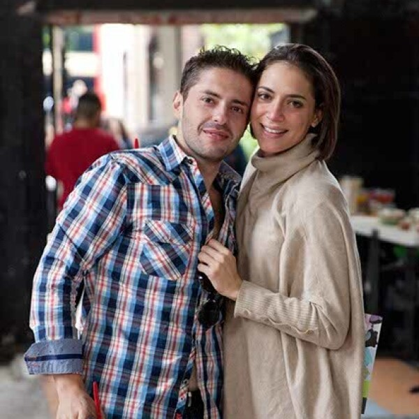 Christopher Perla y Ariana López-Guazo
