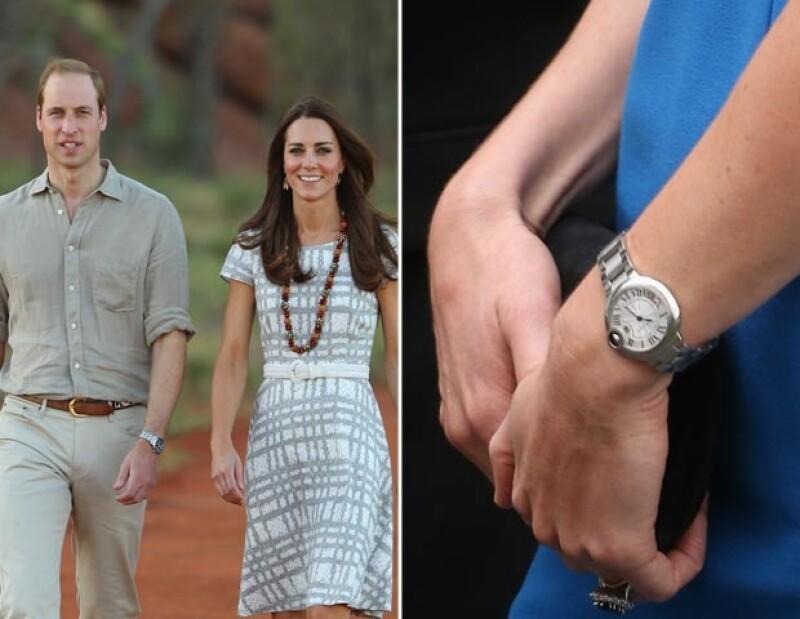 Guillermo regaló a Kate un reloj por su tercer aniversario. Este hace juego con su anillo de compromiso.
