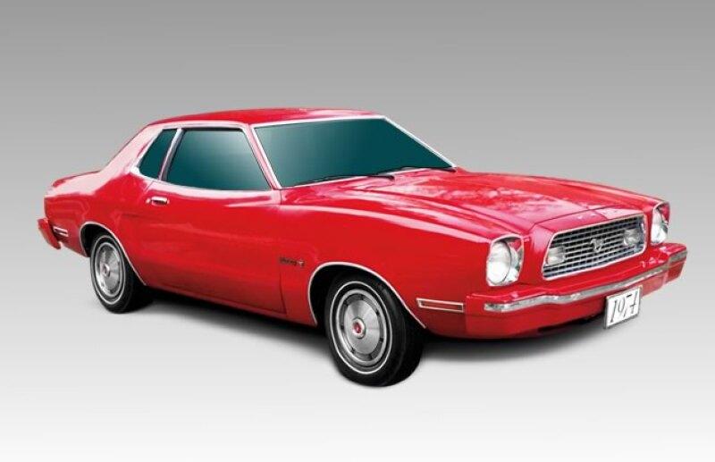 Modelo 1974 Mustang II. Es un coche 19 cent�metros m�s corto que el 1973