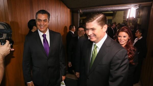 Jaime Rodríguez y Rodrigo Medina