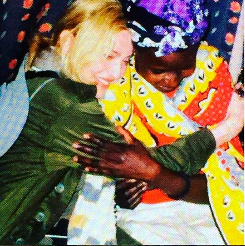 Madonna es una de las cantantes comprometidas con las causas sociales.