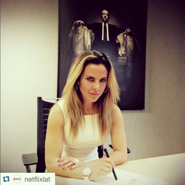 Kate del Castillo interpretará a la primera dama de México en la serie que llevará por título: Ingobernable.