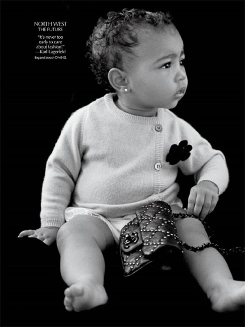 La hija de Kim Kardashian y Kanye West cuenta, a sus 14 meses, con una gran variedad firmadas por los mejores diseñadores del mundo.