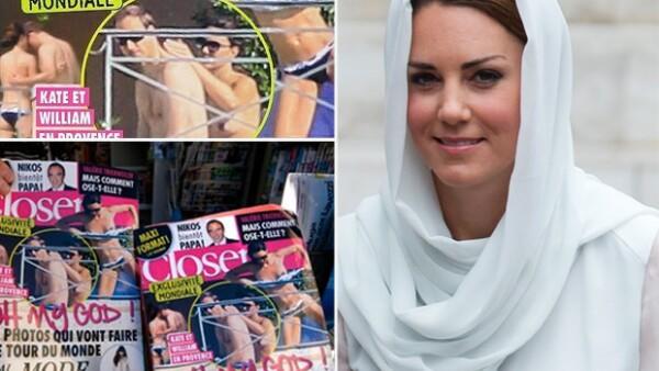 Una revista francesa publicó unas imágenes donde se aprecia a los Duques de Cambrigde disfrutando en un yate.