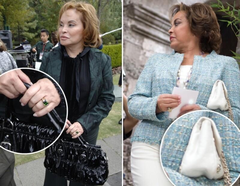 Gordilo frecuentemente usaba bolsas Prada y sacos Chanel.