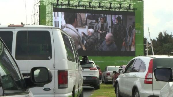 El autódromo de México pasa del Vive Latino y la F1 a ser autocine