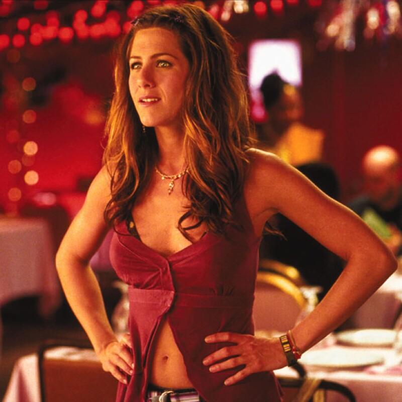 Aniston interpretó a Polly Prince, que en la película podía ser una niña tierna, pero también una mujer muy sensual.