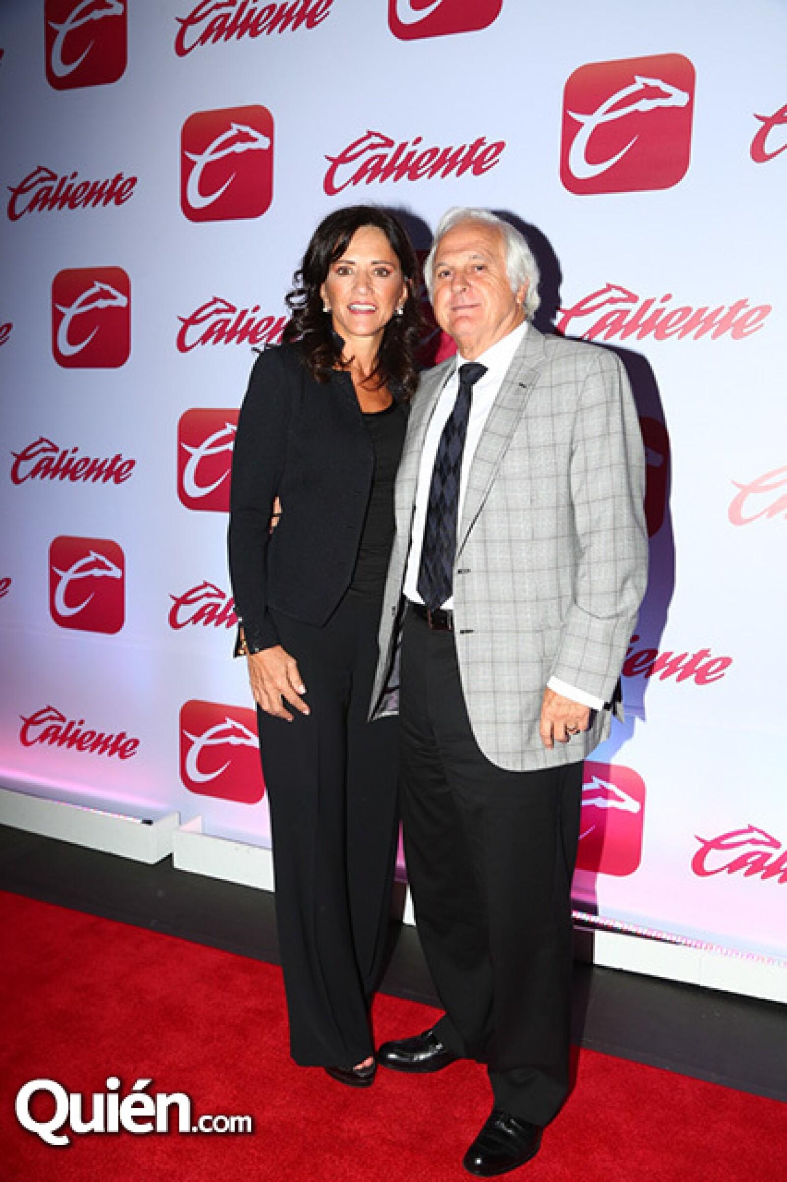 Marcela Talancón y Carlos Molfese