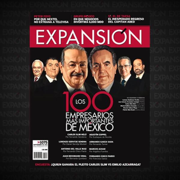 Este año el Top 10 registra varios movimientos. Alberto Bailléres arrebató el segundo lugar a José Antonio Carbajal. Germán Larrea subió al cuarto lugar y Ricardo Salinas Pliego al quinto.
