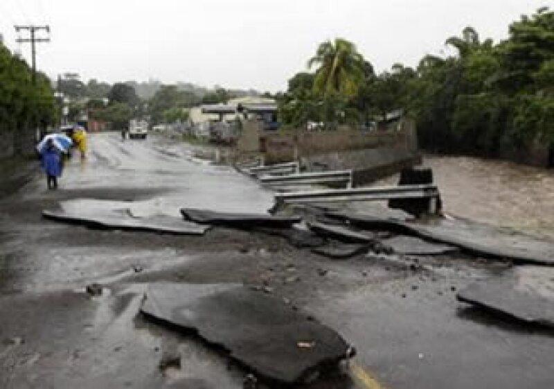 La tormenta tropical Alex se convertiría en huracán este martes. (Foto: Reuters)