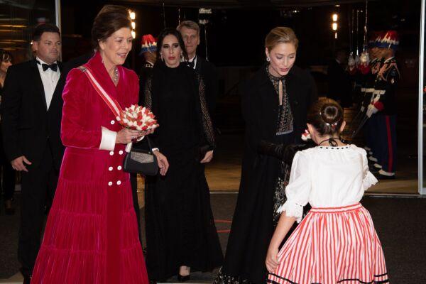 Carolina de Mónaco y Beatrice