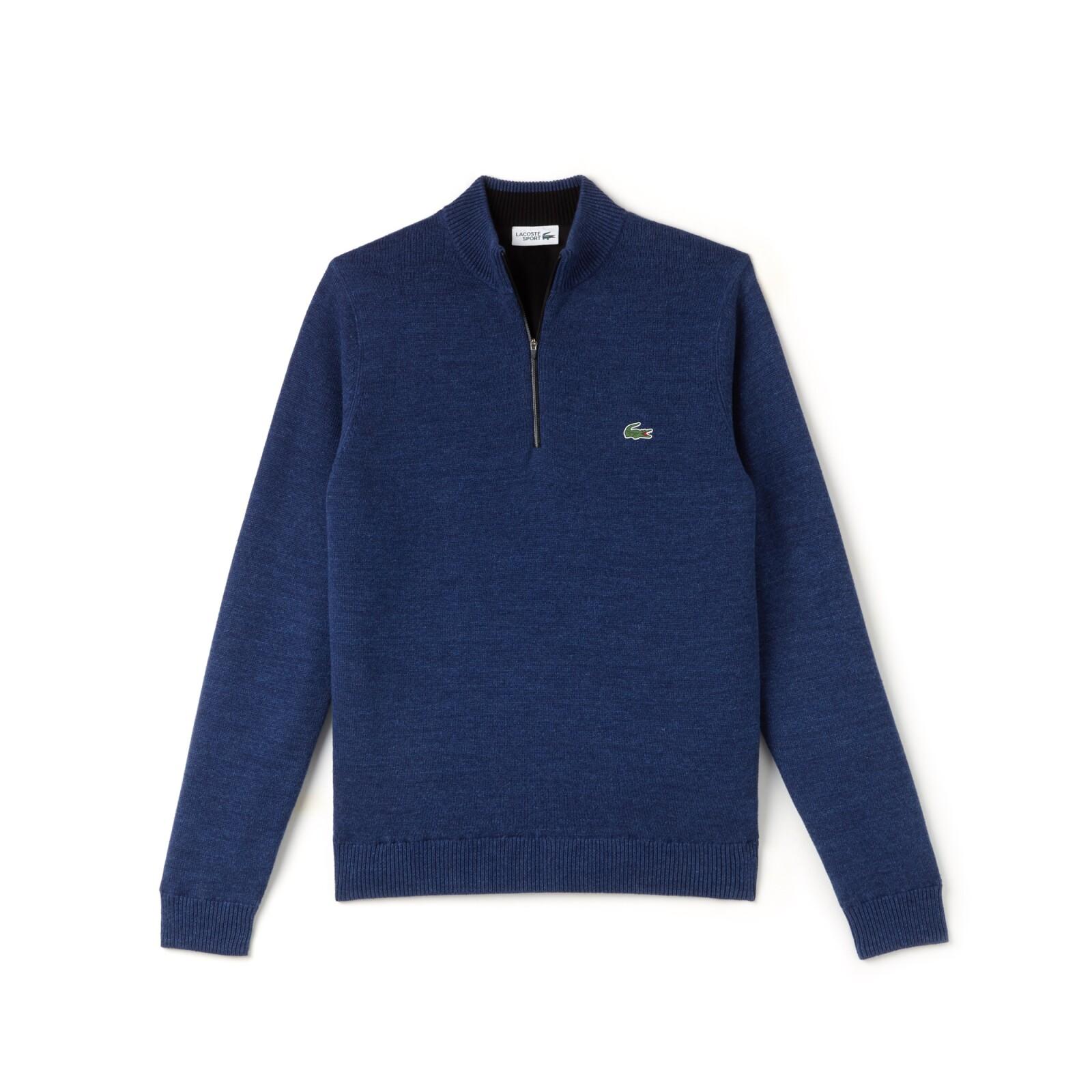 Suéter de punto en azul marino