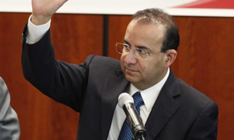 Alfonso Navarrete, presidente de la comisión de Presupuesto, dijo que la votación se llevó a cabo por unanimidad. (Foto: Notimex)