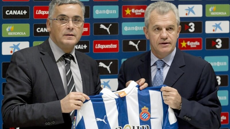 Javier Aguirre es presentado en el Espanyol