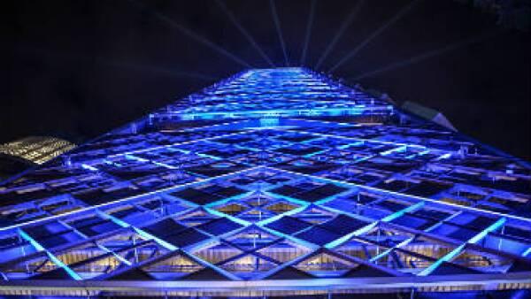 La torre fue construida con una inversión de 650 millones de dólares. (Foto: Presidencia)