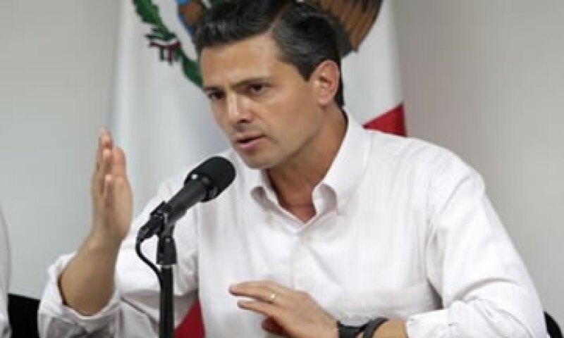 El presidente Enrique Peña Nieto ordenó usar los recursos para impulsar el empleo en las zonas afectadas por las tormentas. (Foto: tomada de presidencia.gob.mx)