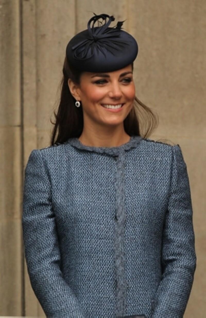 Un antiguo compañero de colegio de la Duquesa de Cambridge aseguró que siempre es muy controlada.