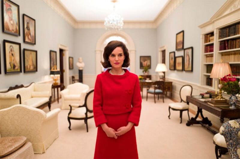 Esta es la primera fotografía de cómo se verá Natalie interpretando a la ex Primera Dama de Estados Unidos.