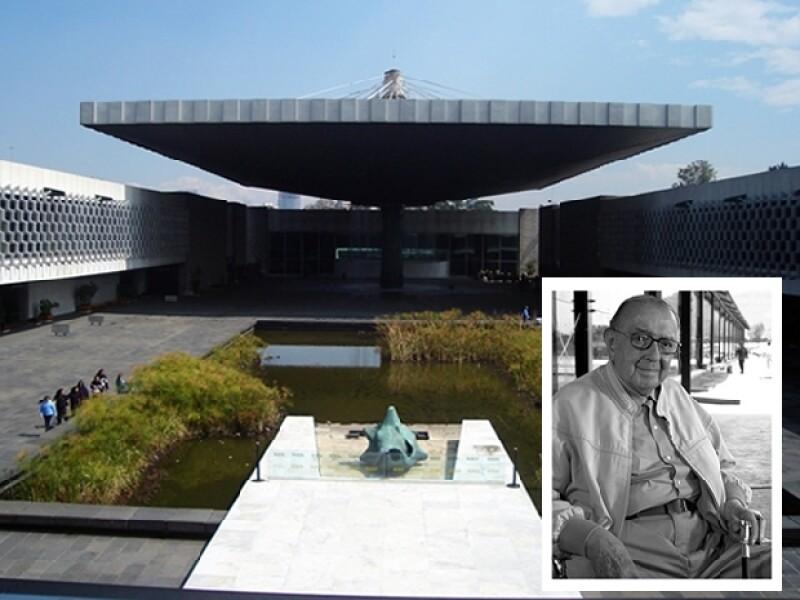 El Museo de Antropología e Historia define la arquitectura monumental del icónico arquitecto.