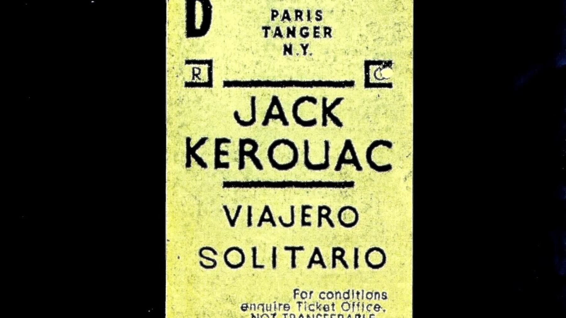 Viajero solitario, de Jack Kerouac.