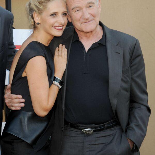 Sarah Michelle Gellar vivió el lado más paternal de Robin cuando trabajaron en la serie The Crazy Ones.