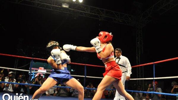 Pelea de box entre Gabriel Soto vs Marcus Ornellas y Miguel Torruco vs Antonio de la Vega