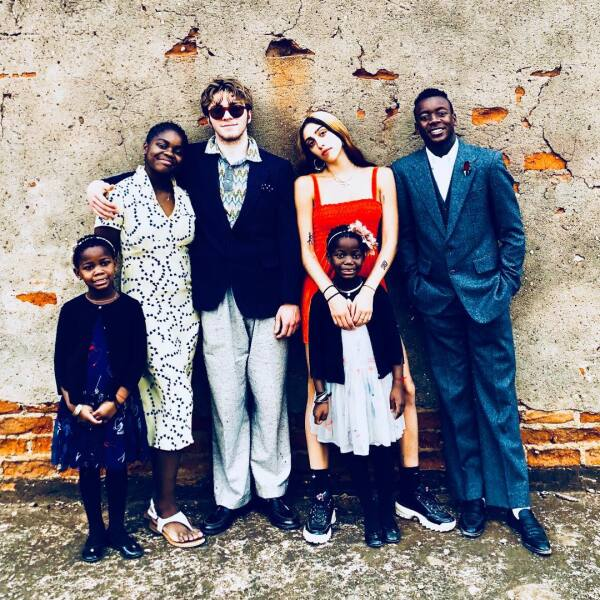 Madona y sus hijos