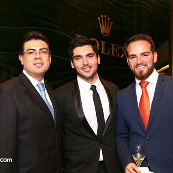 Alejandro Flores,Efren Villarreal y Juan Carlos Jiménez